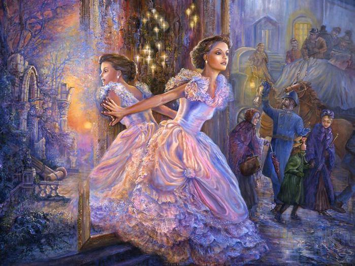 Сказочный арт Josephine Wall.