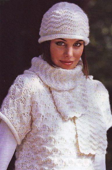 Вязанье на спицах на видио