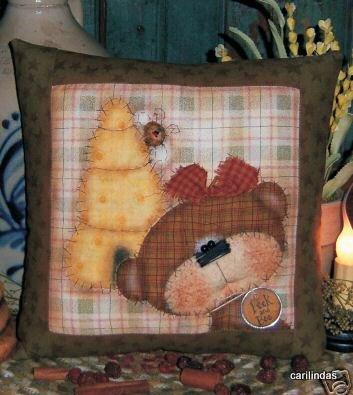 Декоративные подушки, подушки-игрушки, выкройки.