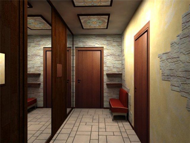 Дизайн интерьера помещений длинная и
