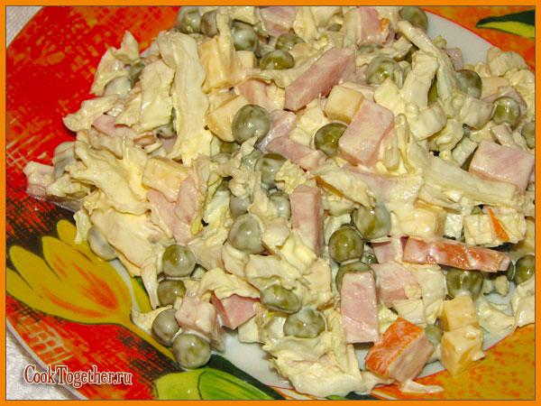 какие салаты можно сделать из капусты