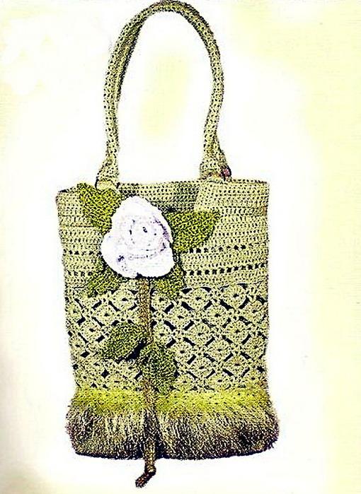 схемы вязания крючком сумок и рюкзаков.