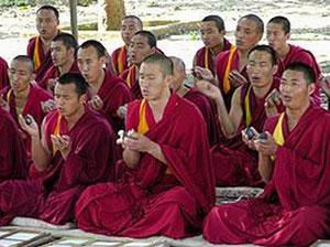 Описание: кого нашла - Тибетские монахи. добавлено
