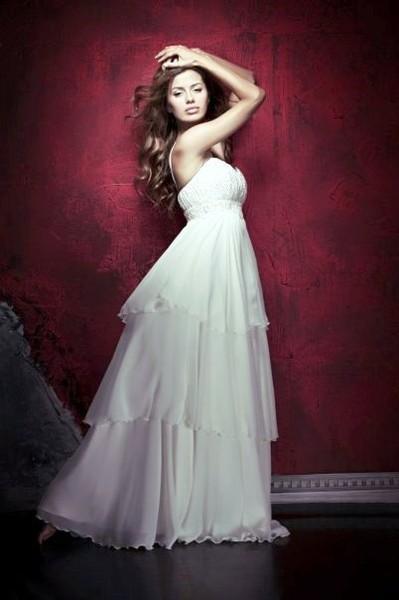 как сшить длинное теплое платье