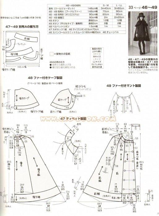Выкройка платья в стиле лолита