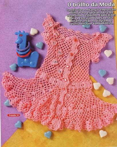 Связать крючком по схемам нарядные платья детям. связать крючком по схемам (558x700, 367Kb) .