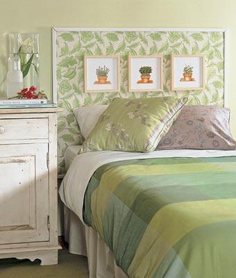 Зелёная спальня - Стиль кантри - Галерея - Дизайн интерьера.