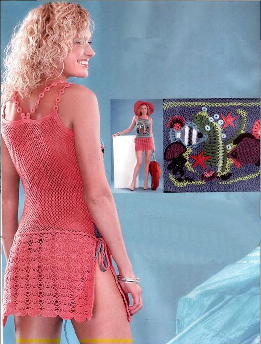 Описание: Метки. креатив. вязание. юбки. летние кофточки вязанные крючком схемы.