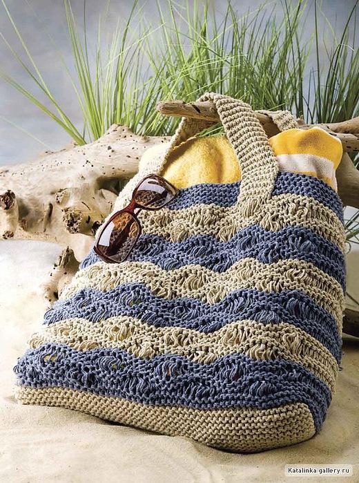 Одеваемся со вкусом.  Вязаные сумки .  Кройка, шитье, вязание - способы и приемы.