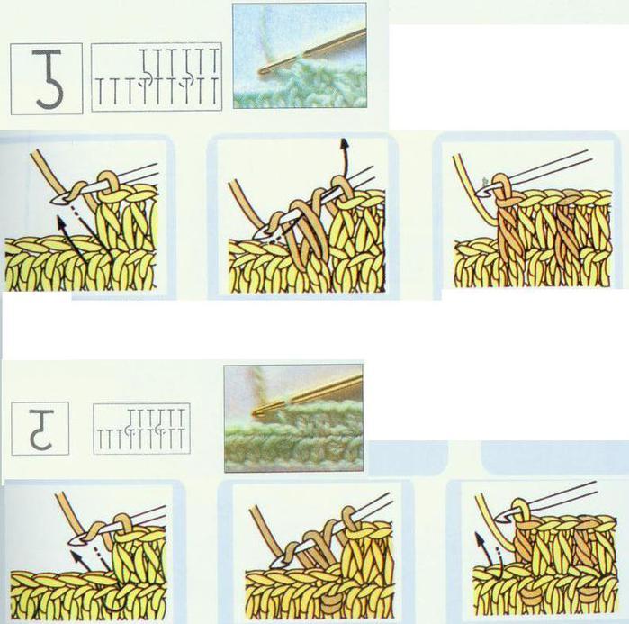 Схемы для вязания. японских