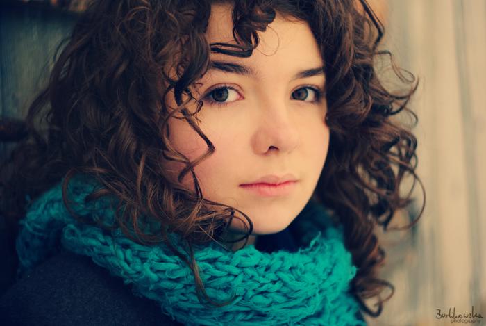 Красивые фотографии кудрявых девушек