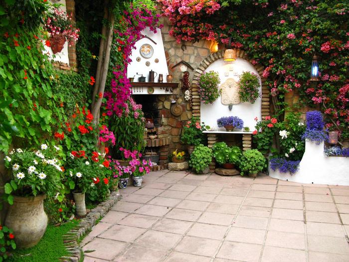 будто все самые красивые цветый двора частного дома фото должна