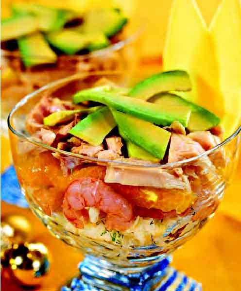 Просмотр фотографий блюда Салат из авокадо - рецепты на Повар.ру.
