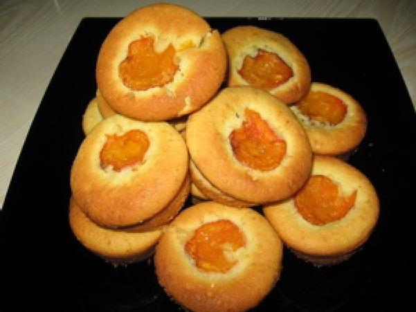 Кексы с абрикосовым вареньем рецепты с фото
