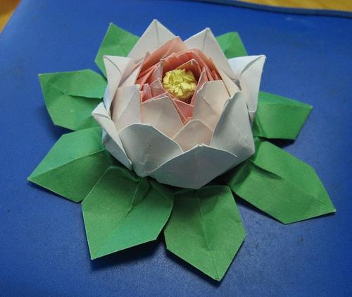 оригами схемы цветы видео - Только схемы.