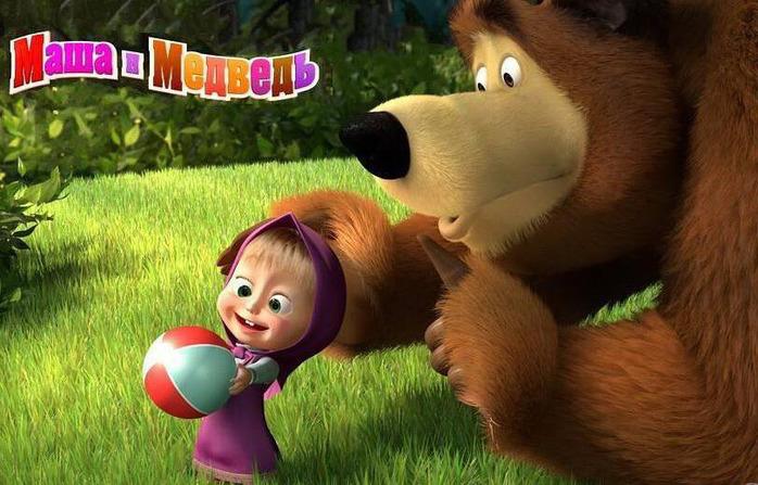 Маша и Медведь - один из популярнейших современных отечественный...