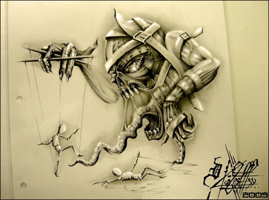 Татуировки мистические существа
