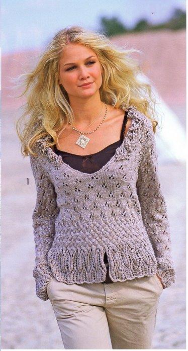 Вязаный Пуловер Для Девушки С Доставкой