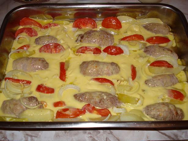 биточки мясные рецепт с фото в духовке