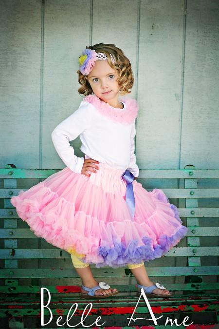 Умопомрачительные юбочки PETTISKIRTS для девочек вдохновение.