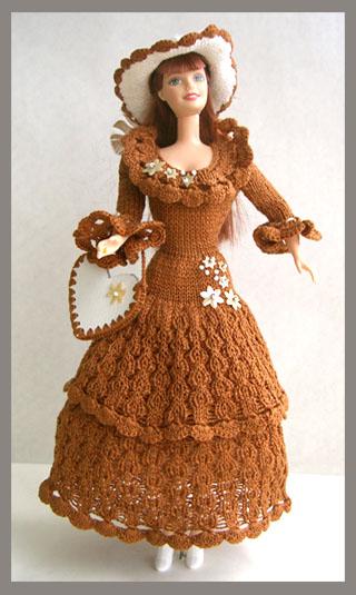 Вязание одежды для кукол схемы