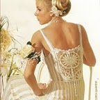Вязаные крючком платья.