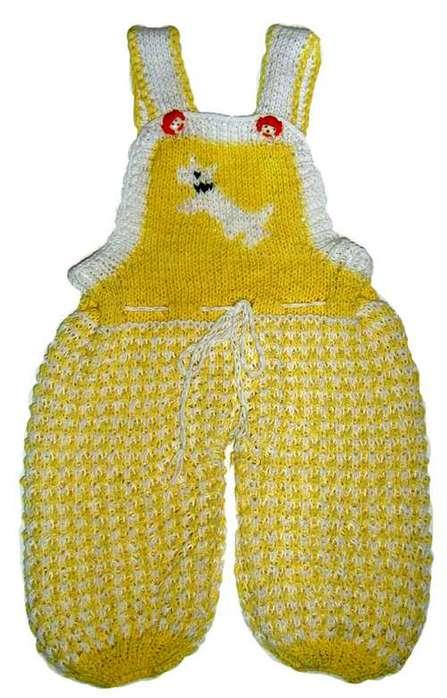 """Метка вязание спицами для детей.  Детские та очки  """"Зайчики """".  Штанишки на лямках."""