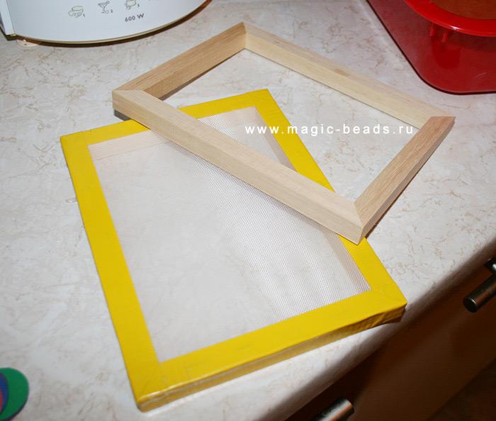 Как сделать своими руками рамку для в стиле ретро