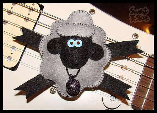 Новогодние игрушка овечка своими руками