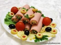 холодные закуски к праздничному столу рецепты фото.