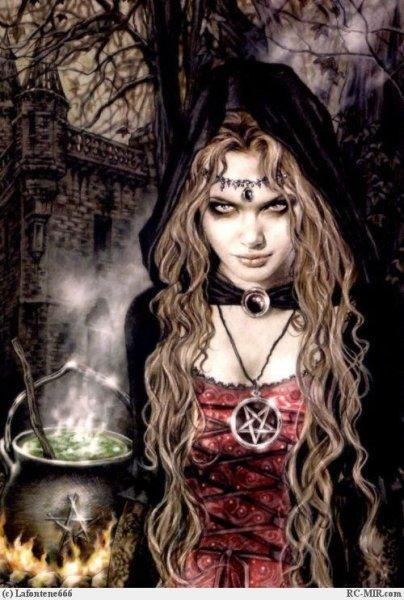 Я ведьма я свожу с ума