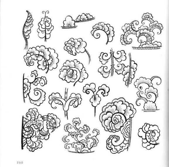 Шаблоны листьев стилизованные