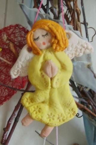 Ангелочек из картона своими руками