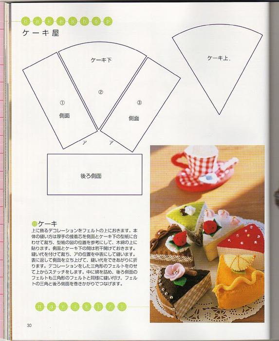 Еда из ткани своими руками