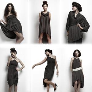 Сшить комбинированное платье своими руками