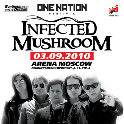 One nation festival infected mushroom live