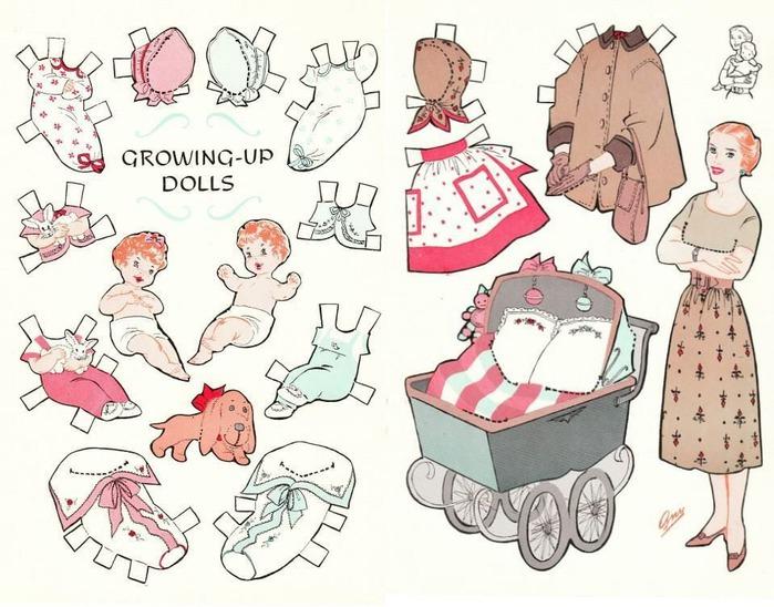 Как сделать для кукол своими руками из бумаги