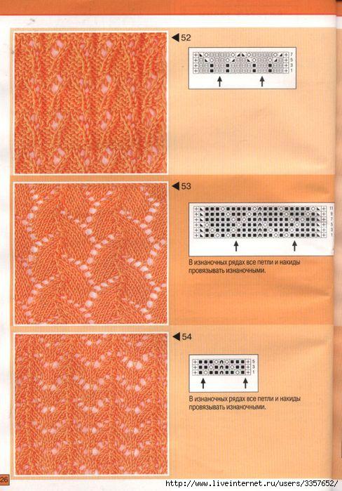 образцы вязания спицами - Сумки.