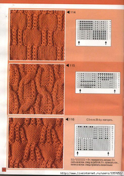 Фотография из рубрики Схемы вязания свитеров спицами и
