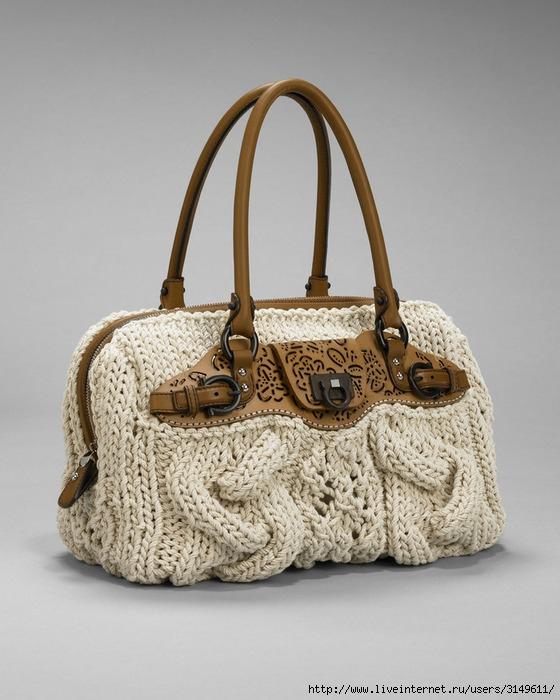 Еще схемы сумок, связанных на