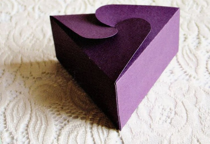 Коробочка для подарков своими руками.