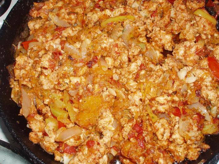 Тыква с рисом и курицей в духовке рецепты