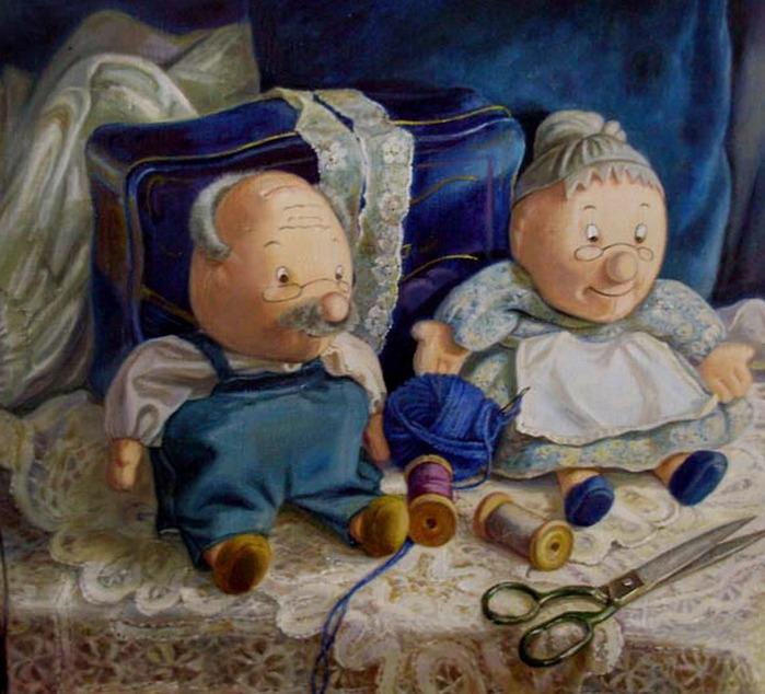 Мишки. и сундучок.  На стуле.  Первый приз.  Домовые и тыква.  Кукла Зоя.  Домовой и сушки.  Мишки малые. находятся в...