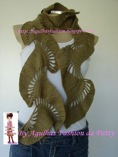 вязание шарфа со схемами - Лучшие концепции стиля и моды.