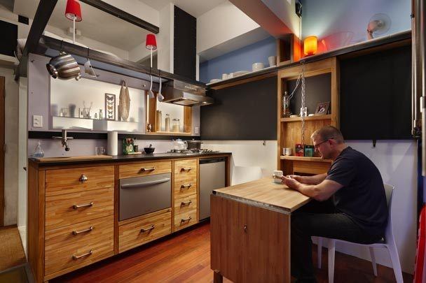кухонный уголок хайтек