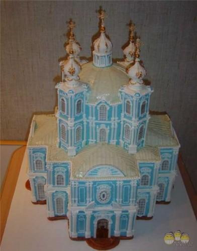 Красивые торты торты замки