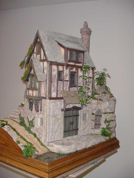 Миниатюра домики своими руками