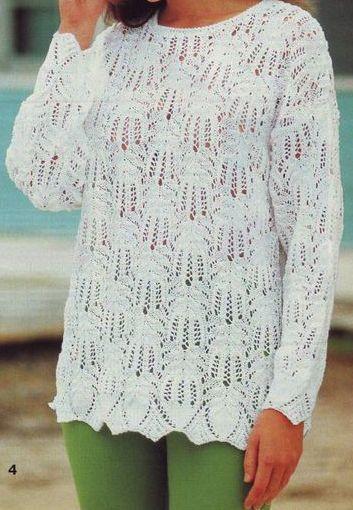 Пуловер Медвежьи Лапки