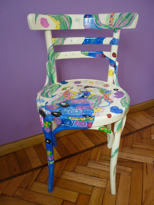 Покраска деревянного стула своими руками 38