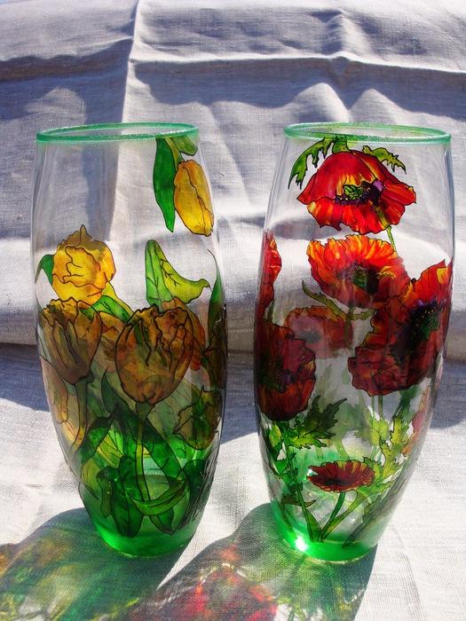 Желтые вазы фото 9